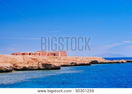 View Of The Red Sea And Coast Sinai, Egypt