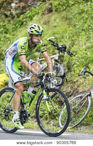 Marco Marcato On Col Du Tourmalet - Tour De France 2015