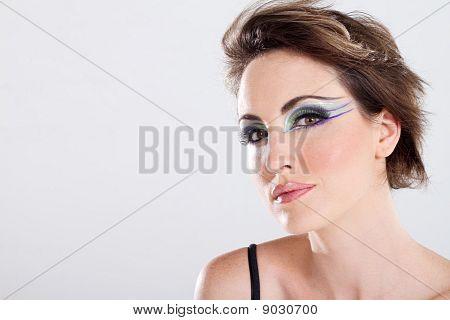 fashion model face