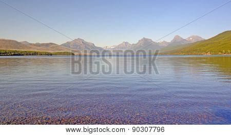 Alpine Lake Panorama