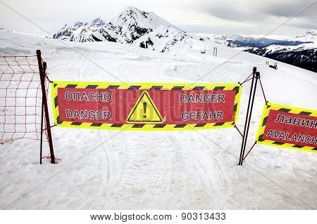 Dangerous Area