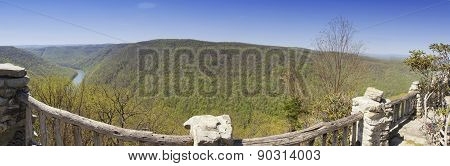 Coopers Rock State Forest Panorama