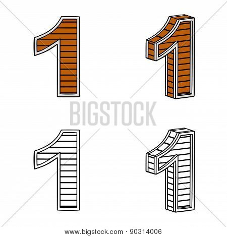 Number One (a Block Of Wood)