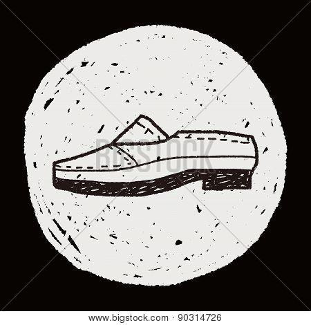Doodle Leather Shoe