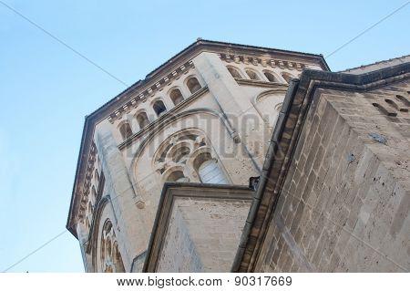 Church detail in Santa Catalina