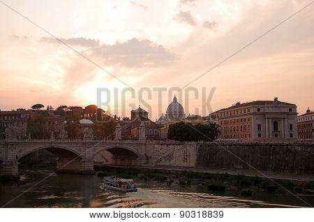 Rome On Sunset
