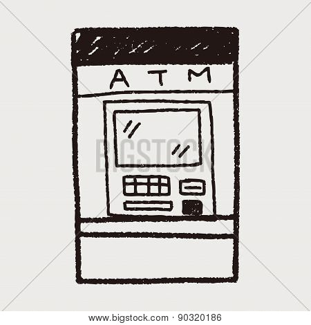 Atm Doodle Drawing