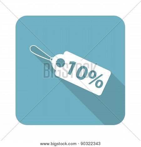 Square discount icon