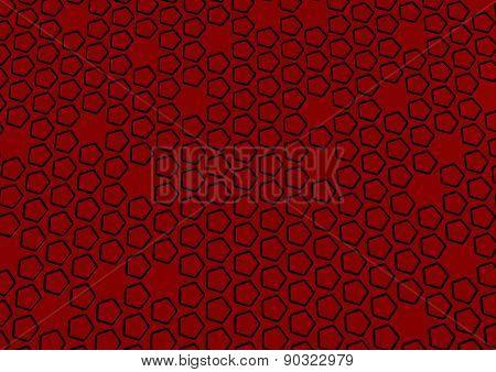 Pentagon Structure Background