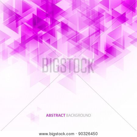 Violet shiny technical background. Vector
