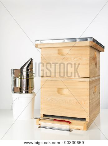 Beginner beehive With Tools