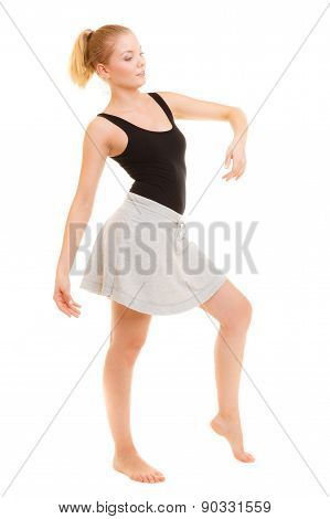 Woman Dancer Teen Girl Break Dancing