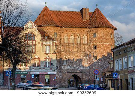 Historic Buildings In Lidzbark Warminski