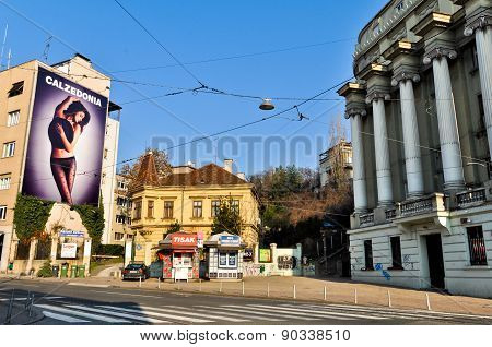 Streets of Zagreb City