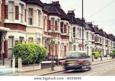 Straße in London.