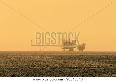 Offshore Central Processing Production Platforms For Oil And Gas Production