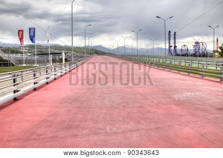 Sochi. Bike Path