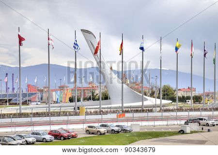 Sochi. Olympic Area