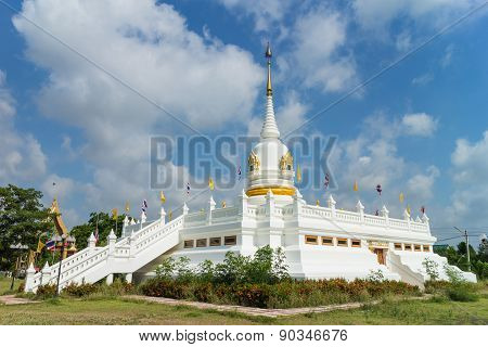 place of worship with sky background
