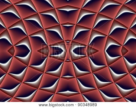 Symmetrical Fractal Pattern. Collection - Cells. Artwork For Creative Design, Art And Entertainment