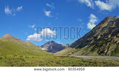 Tien Shan Mountains In Kazakhstan