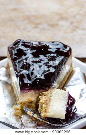 Piece Of Blueberry Pie