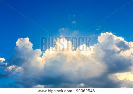 Clouds Before Storm