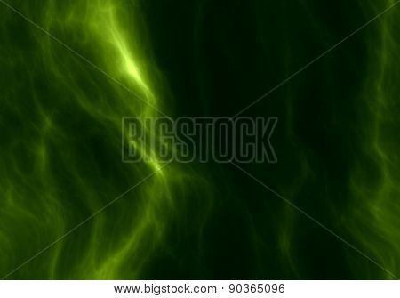 Abstract Green Seamless Plasma Background