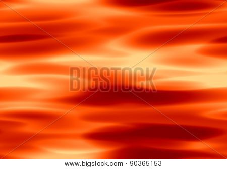Abstract Red Seamless Plasma Background