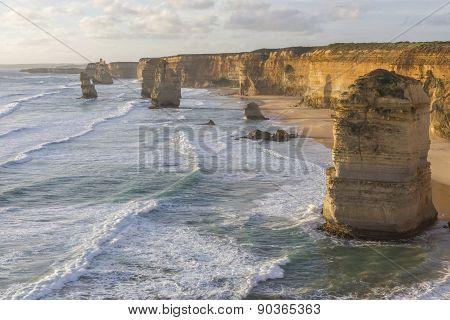 Twelve Apostles On Great Ocean Road, Australia.