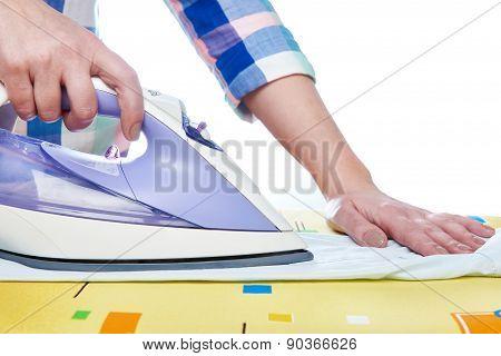Woman Ironed Shirt