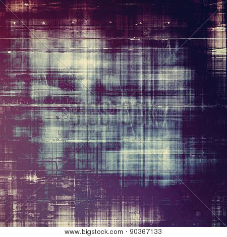 Background with grunge stains. With different color patterns: gray; black; purple (violet); blue