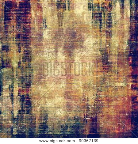 Abstract grunge background of old texture. With different color patterns: brown; purple (violet); green; yellow (beige)