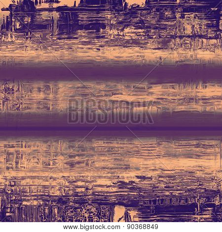 Old background with delicate abstract texture. With different color patterns: brown; gray; purple (violet)