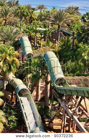 The Aquaventure waterpark