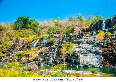 Pongour waterfall, Vietnam