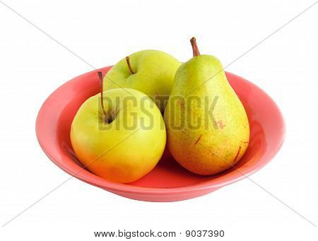 Fruits On The Plate
