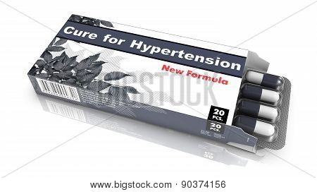 Cure for Hypertension - Blister Pack Tablets.