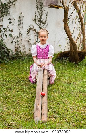Bavarian tradition in Easter