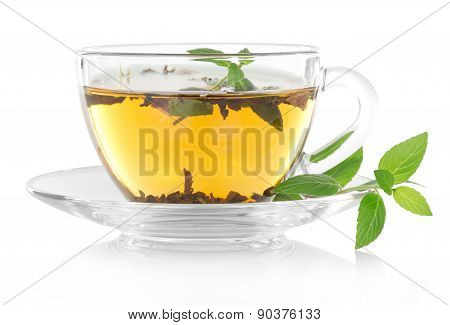 Tea and mint