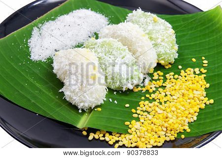 Mung Bean Rice - Crepe On Banana