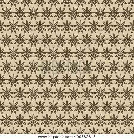 Flowers Pattern Retro
