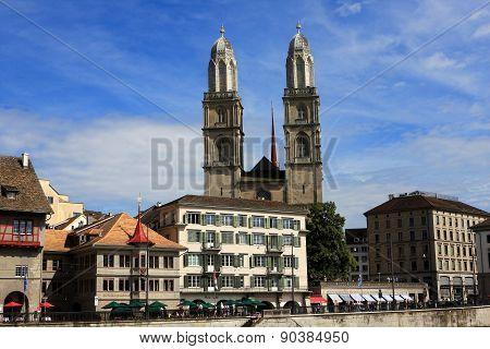 View of Zurich
