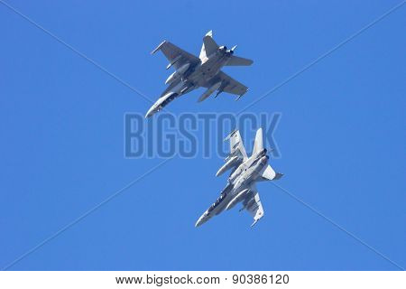 Spanish F-18 Hornet