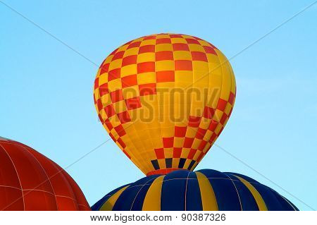 Hot Air Balloons Rising