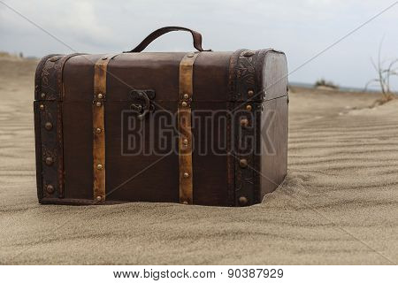 Brown Treasure Chest