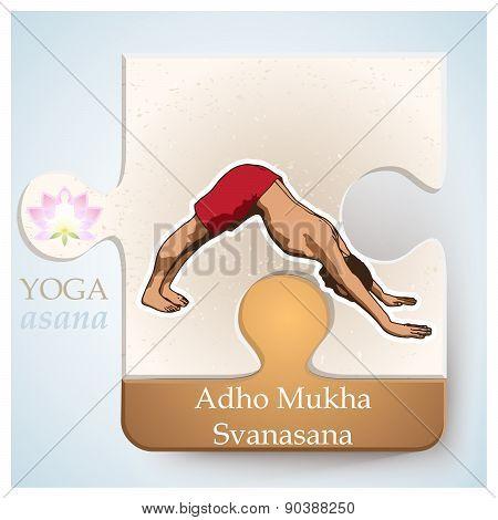 Yoga Asana Adho Mukha Svanasana