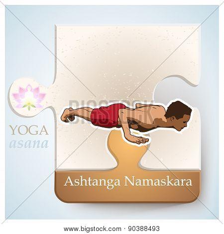 Yoga Asana Ashtanga Namaskara