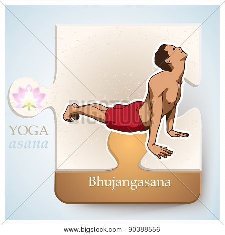 Yoga Asana Bhujangasana