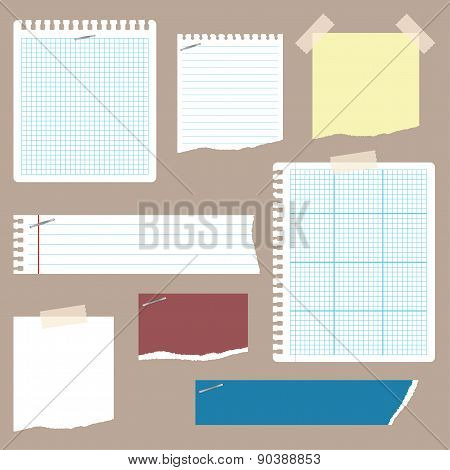 Ripped Notepaper